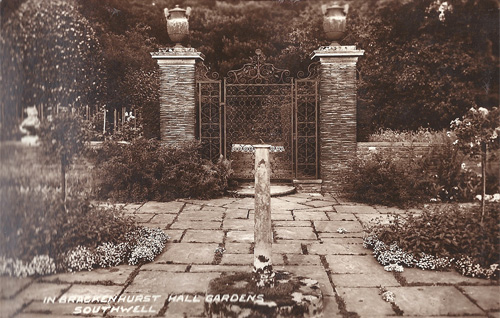 The Sunken Garden gate