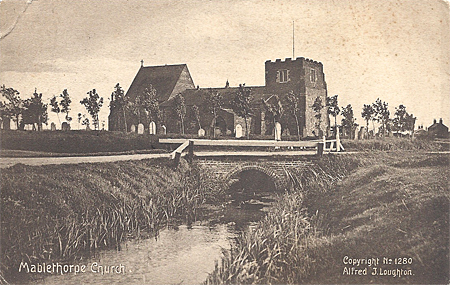 Mablethorpe Church, Lincolnshire