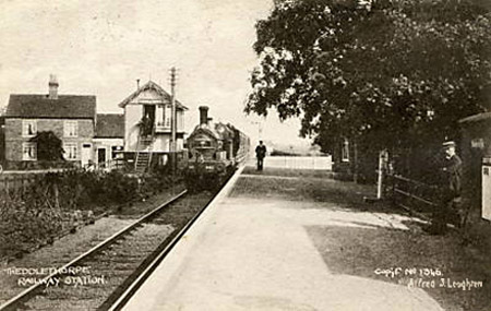 Theddlethorpe Railway Station, Mablethorpe, Lincolnshire