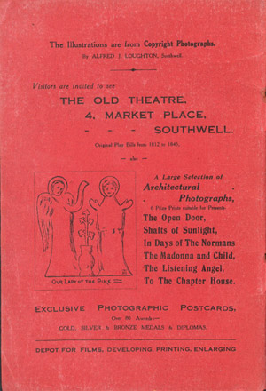 Pictorial Southwell - inside front cover