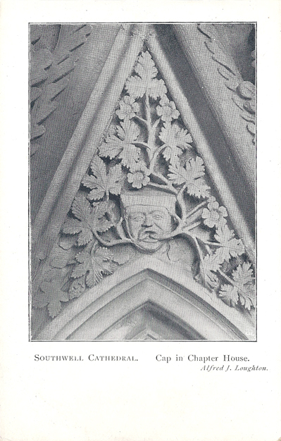 Southwell Cathedral, Cap in Chapter House