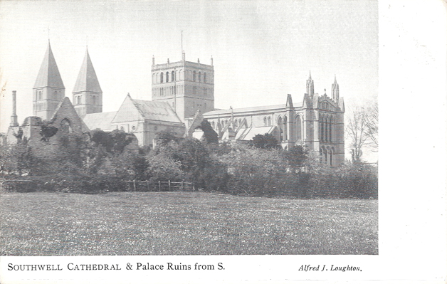 Southwell Cathedral & Palace Ruins from S.