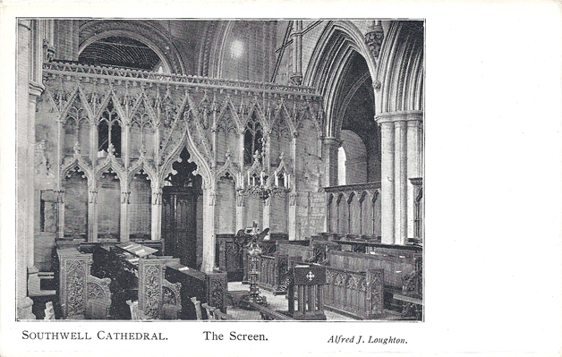 Southwell Cathedral, The Screen