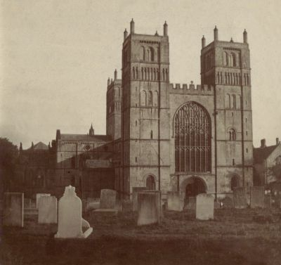 Southwell Minster without the Pepper-pots