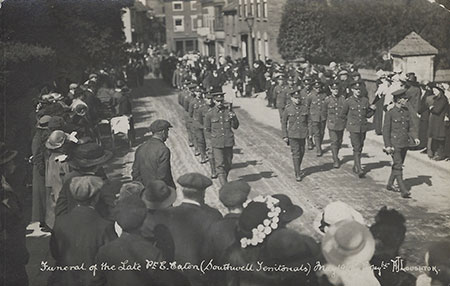 The Funeral of Pte E Eaton