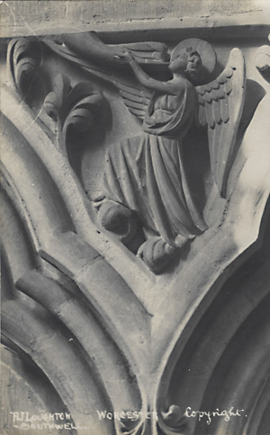 Carving of an Angel