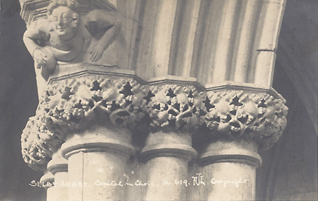 Selby Abbey Capital in Choir